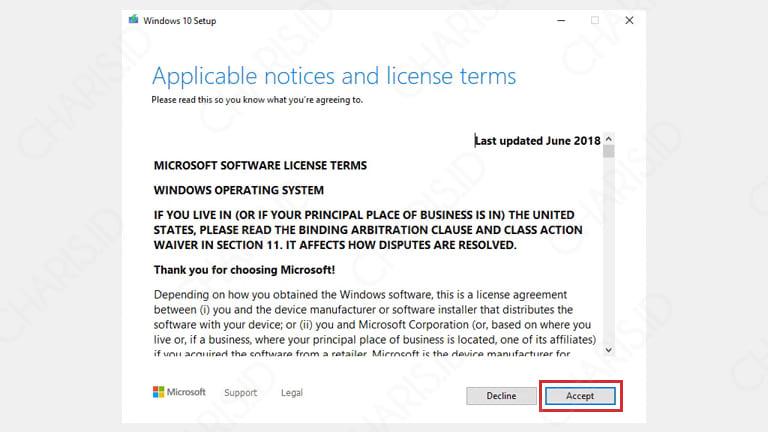 cara mengupdate versi windows 10