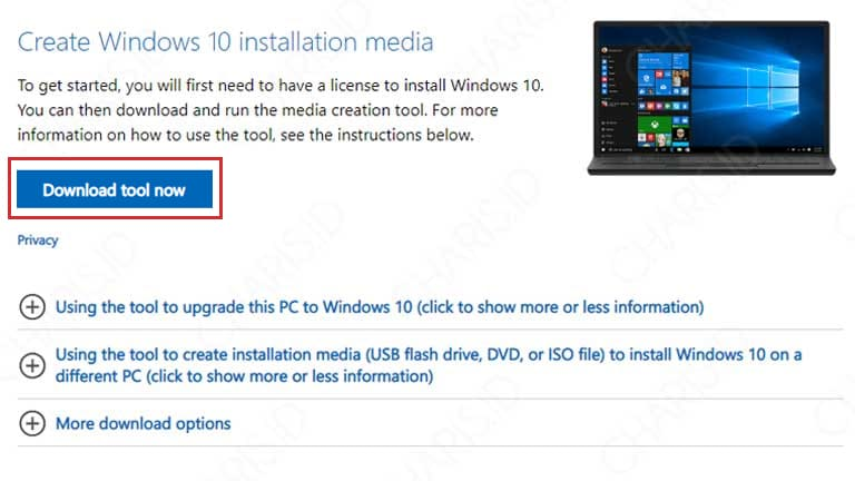 cara mengupdate windows 10