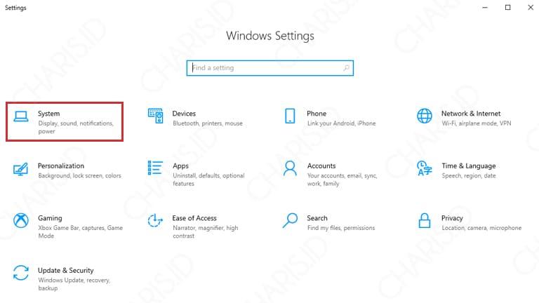 cara melihat spesifikasi laptop windows 10