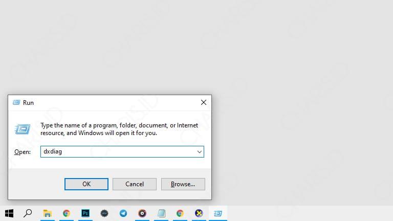 cara melihat spesifikasi laptop windows 7