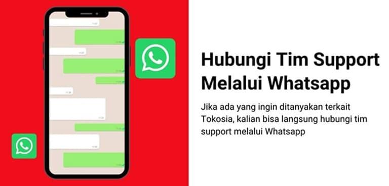 Support Admin Melalui WhatsApp