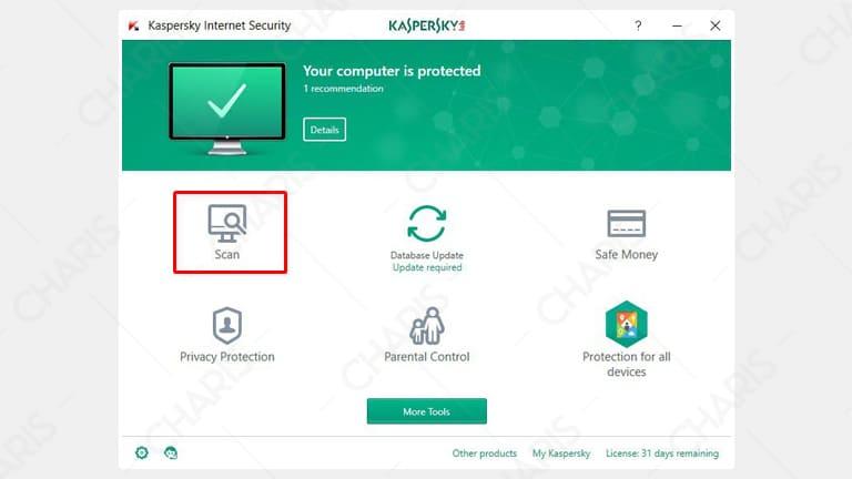 cara menghilangkan virus di laptop