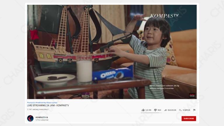 cara nonton tv di laptop dengan koneksi internet