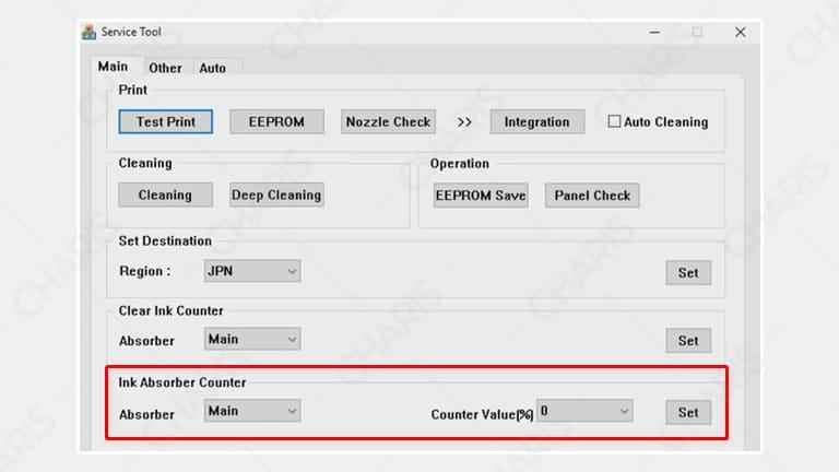 cara reset printer canon ip2770 dengan service tool