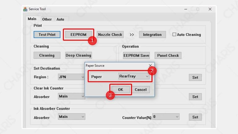 cara reset printer canon ip2770 manual