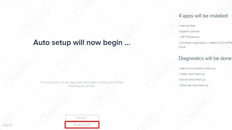 cara update driver laptop dengan driverpack